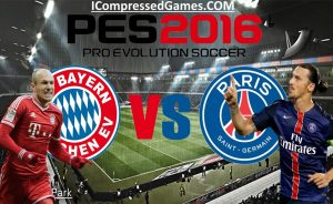 PES 2016 Highly Compressed